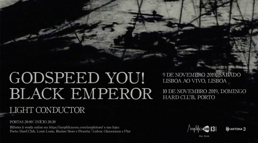Next week: Amplificasom celebrates their 13th Anniversary with the return of Godspeed You! Black Emperor to Portugal